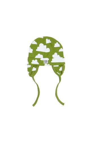 KIDSTOPIA green KIDSTOPIA FF Beanie With Earflaps - Moln - Green 10D96KCFAB4646GS_1