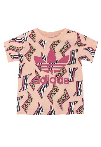 ADIDAS pink all-over print tee 34BF9KAB687800GS_1