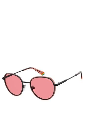 Polaroid pink Polaroid 6114/S Sunglasses 0B27BGL3335A62GS_1