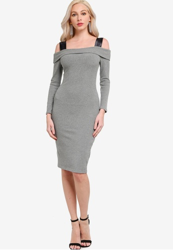 Guess grey Fabiana Dress E1A82AAA625C08GS_1