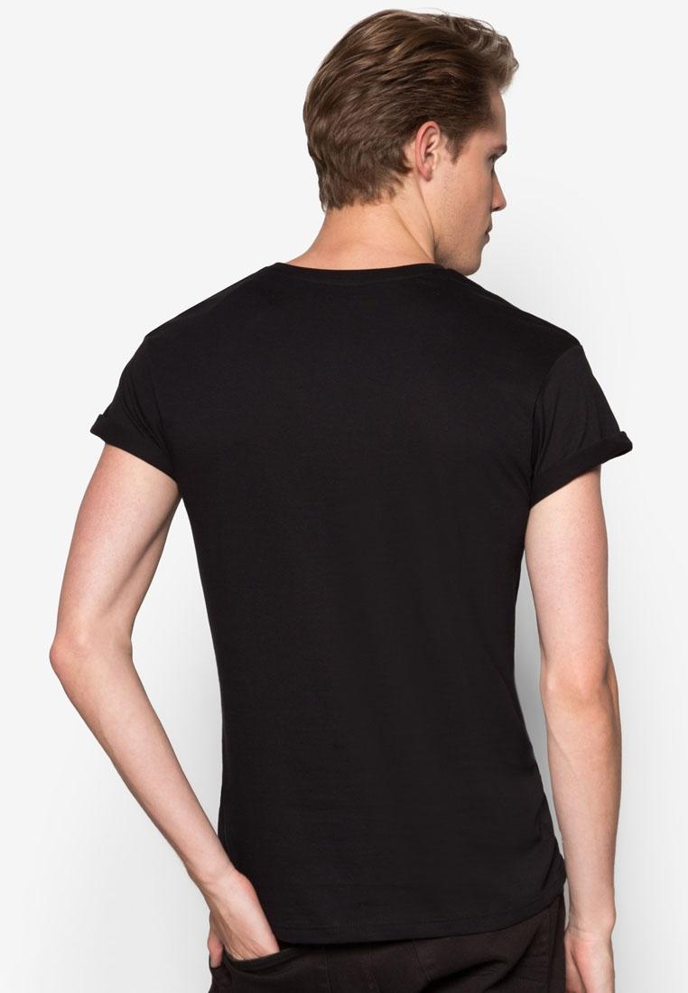 T Black Shirt Black Roller Topman nY5fwxUq