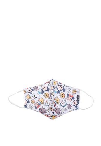 Disney white Disney Tsum Tsum Masker Kain Dewasa Perempuan 4FA21ESBD03F85GS_1