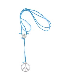 Peace Rosary Y Necklace