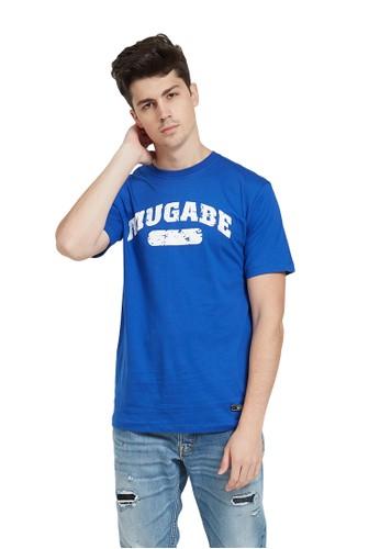 MUGABE blue MUGABE mens t-shirt leauge blue A0A6DAABA68906GS_1