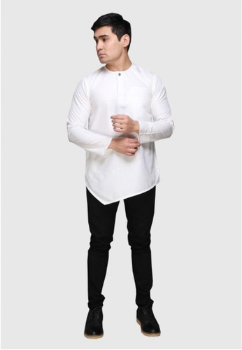 Amar Amran white Kurta Al Fattah 2.0 E94AFAA68216EAGS_1