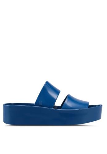 Melissa 藍色 Melissa Shibuya Ad 涼鞋 7CC27SH6F14A99GS_1