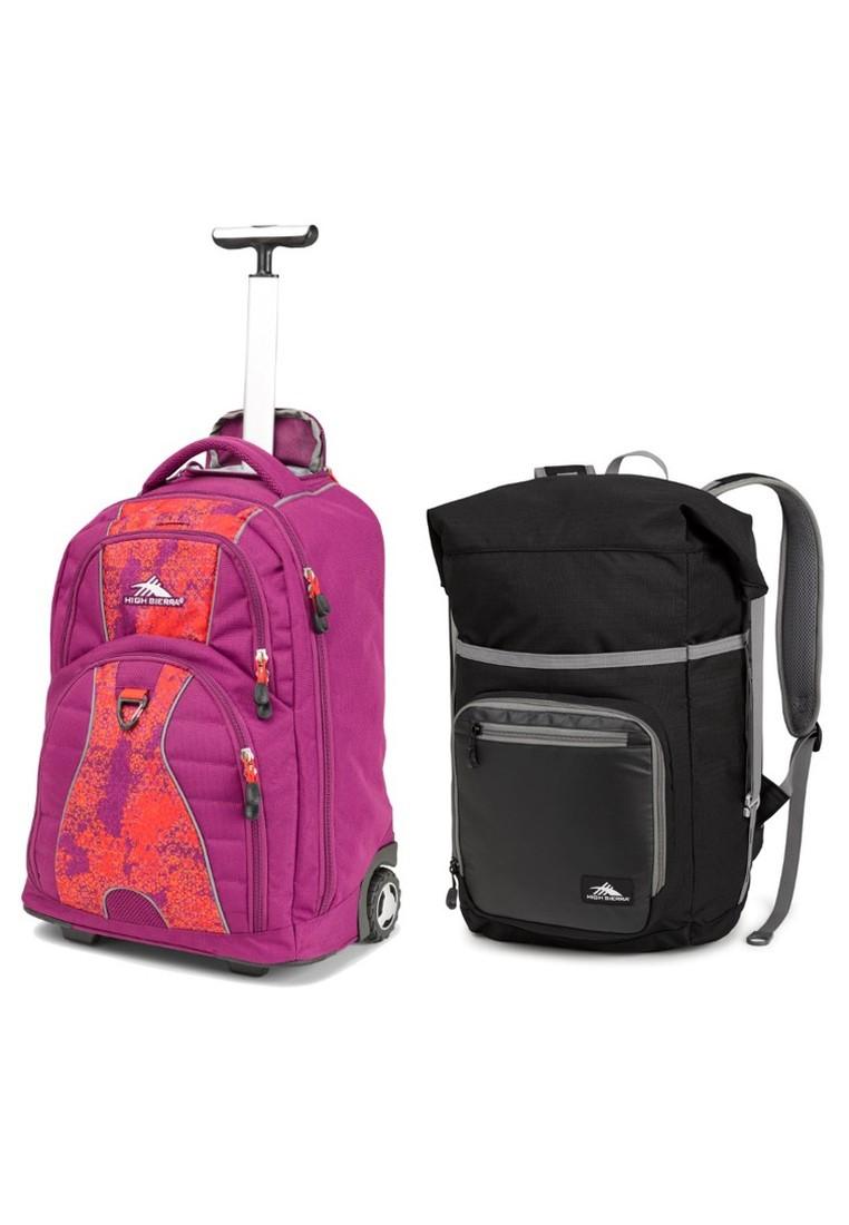 Freewheel Wheeled Backpack and Tethur Backpack