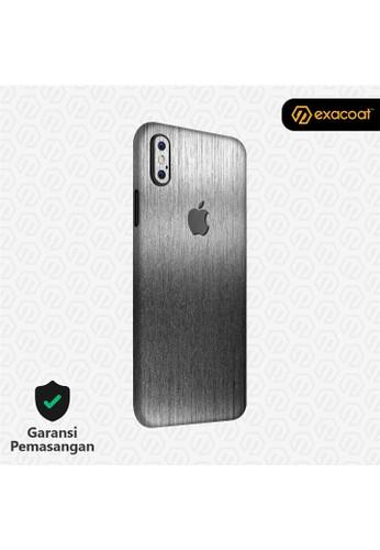 Exacoat iPhone X 3M Skins Titanium Onyx - Cut Only 3975DESE300489GS_1