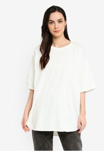 niko and ... white Slit Tunic T-shirt 5FDBDAA9545409GS_1