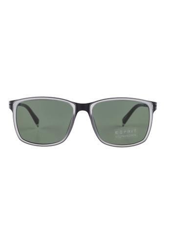 ESPRIT ESPRIT Square Black Sunglasses ET17921 ES374AC60GALMY_1