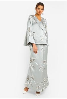 6293b121ba00 15% OFF Ezzati Amira Bamboo Kimono Jacquard Kurung RM 599.00 NOW RM 508.90  Sizes XS M L