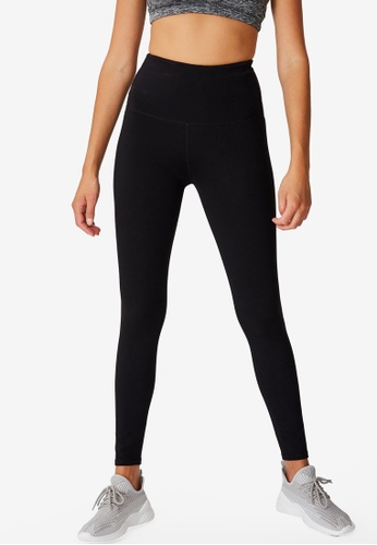 Cotton On Body black Active High Waist Core Tights 70181AA1961BC5GS_1