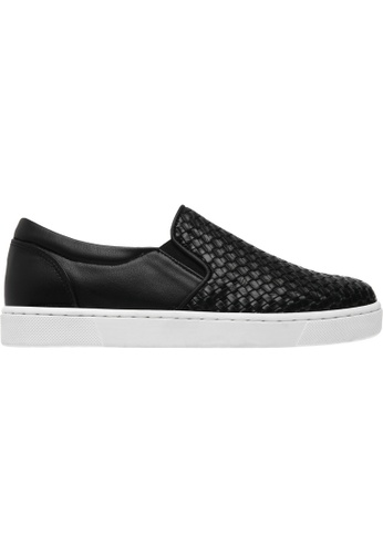 paperplanes black Paperplanes-1371 Woven Tall Up Casual Slip-Ons Shoes US Women Size PA355SH04QBVSG_1