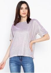 Chase Fashion purple Festival Glitter T-Shirt DA4D7AAAE164BBGS_1