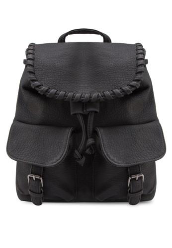 雙翻蓋口袋後背包、 包、 包SomethingBorrowed雙翻蓋口袋後背包最新折價