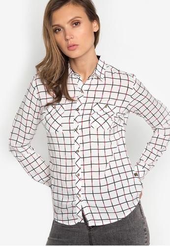 Freego white Ladies Longsleeves Shirt FR760AA14EEFPH_1