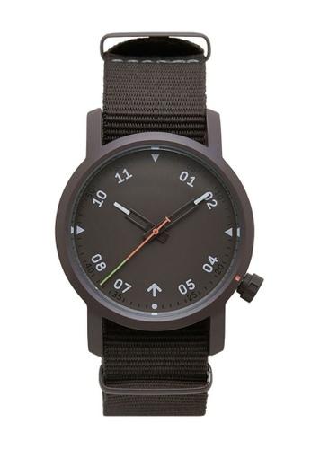 LEUPP grey Ozuru Watch QR 2B0D7AC93F5B2FGS_1