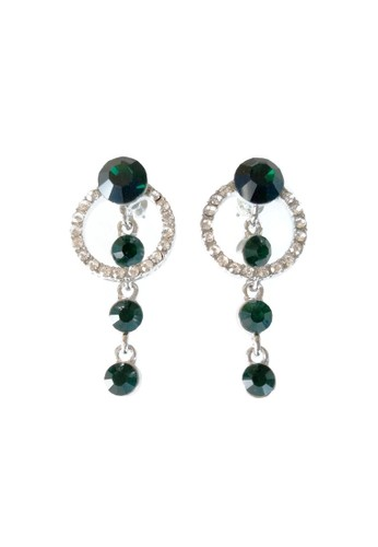 La Miina green North Green Drop Earrings A0363AC88994E9GS_1