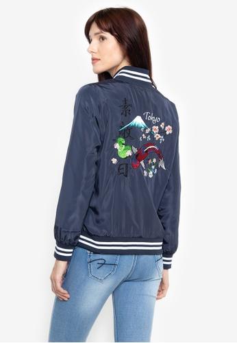 b6b1326a4de Shop BENCH Varsity Jacket Online on ZALORA Philippines
