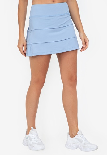 ZALORA ACTIVE blue 3-Panelled Skirt DF63AAAB003792GS_1