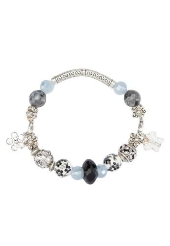 esprit hk store配色閃鑽珠子手鍊, 飾品配件, 飾品配件