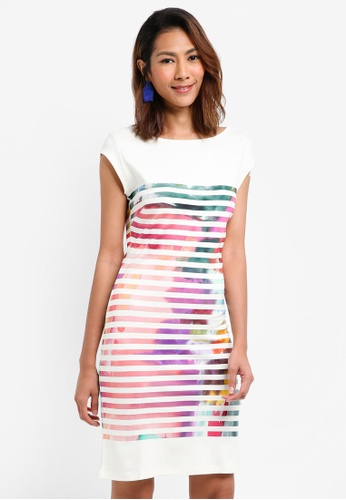 Desigual white Fidel Dress A1572AA6D556B3GS_1