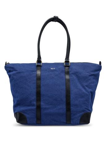agnès b. blue Top-Handle Bag 6ED35AC5F2DBD2GS_1