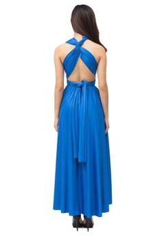 e04e55456de COVETZ Wedding Kaelyn Convertible Maxi Dress - Ultramarine RM 109.00. Sizes  One Size