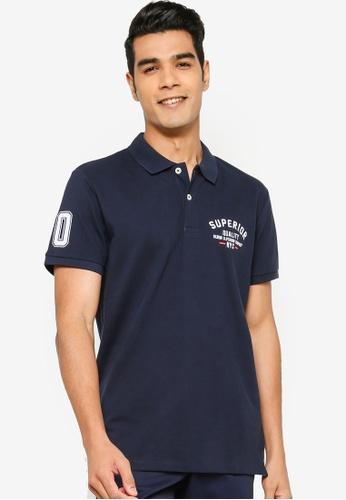 Jack & Jones navy Casual Polo Shirt 2E581AA5D2B26FGS_1