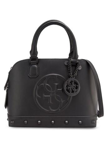 Korry 品牌浮雕鉚釘手提包, 包,salon esprit 香港 包