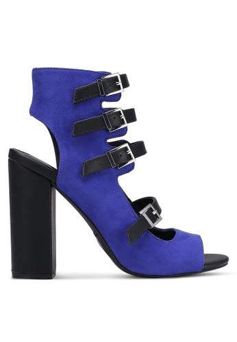Call It Spring blue and navy Aseiria Heels CA512SH0RLDQMY_1