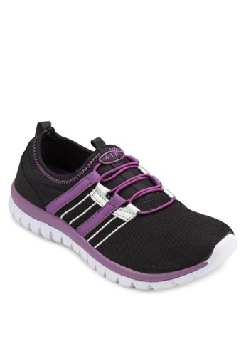 撞色esprit outlet 家樂福針織運動鞋, 女鞋, 鞋