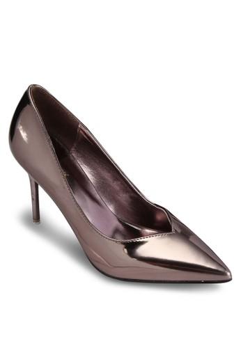 金屬感高跟鞋, 女鞋, 厚esprit 台北底高跟鞋