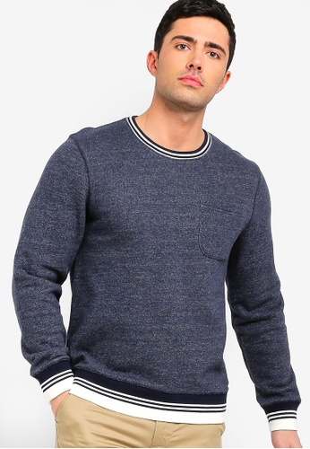 J.Crew 多色 經典Loop 後Brushed Fleece Crewneck Sweatshirt AEE55AAD4B1F09GS_1
