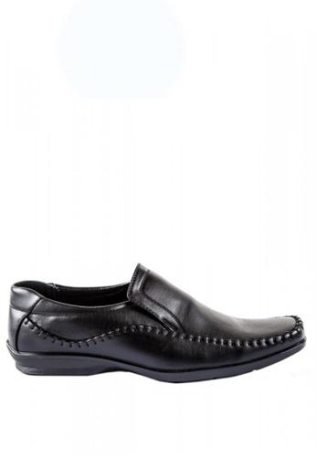 Otto black Comfort Slip-On Shoes 4D2C8SHFA65C22GS_1