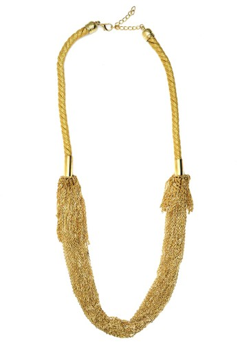 Istana Accessories Kalung Ferdia Chain Fashion Necklace-Gold