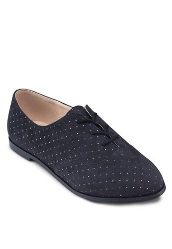 Studded Oxfords, 女鞋zalora 包包評價, 牛津鞋 & 雕花牛津鞋