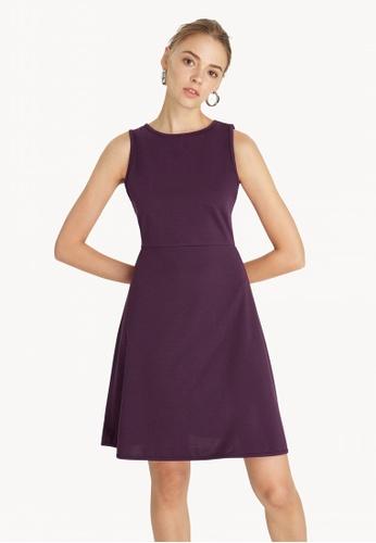 23a1b0b12823 Pomelo purple Mini Flared Skater Dress - Purple 2B9EAAAE083E24GS 1