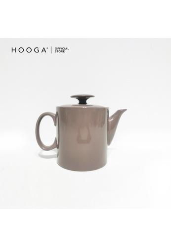 HOOGA brown Hooga Tea Pot Hepburn Brown 1C959HL9C42DF5GS_1