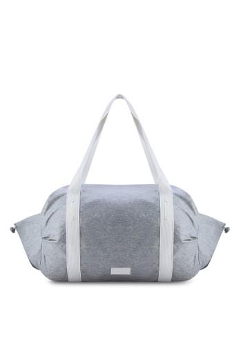 Mango grey Technical Fabric Sport Bag MA193AC02KIJMY_1