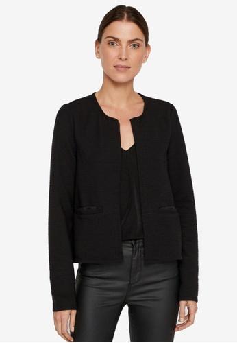 Noisy May 黑色 Ola Long Sleeves Short Cardigan 678EFAA98739C7GS_1