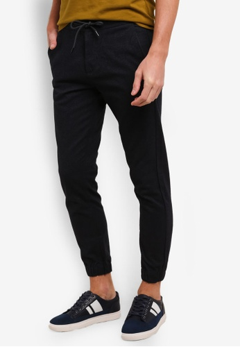ESPRIT navy Regular Woven Pants ES374AA0S8VFMY_1