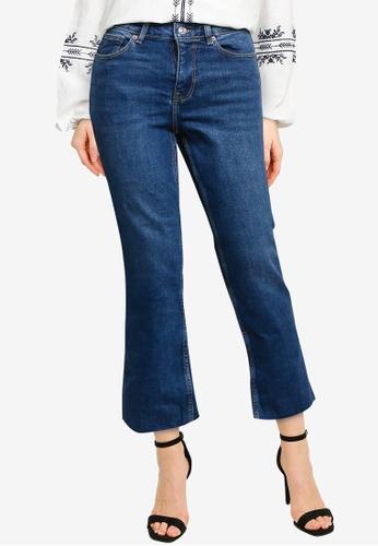 Springfield blue Kick Flare Jeans A26E1AA3CB518BGS_1