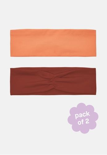 Recess brown and orange Headband Duo 8C7A1AC8EA3061GS_1