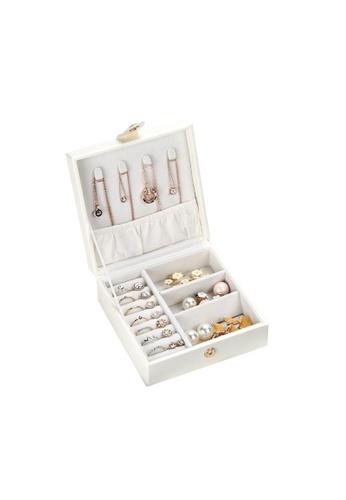 DILAS HOME Small Jewellery Organiser Case (White) 28D43HL31FD91DGS_1