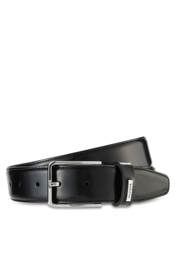 Tommy Hilfiger black BRUSHED BELT 3.5 TO861AC52PALMY_1