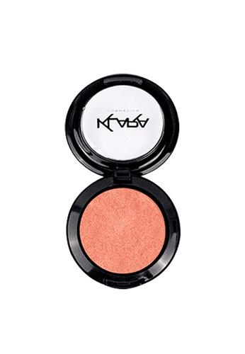 KLARA COSMETICS pink Shimmer Eyeshadow #24 - Rich Peach AA0DABE9651743GS_1