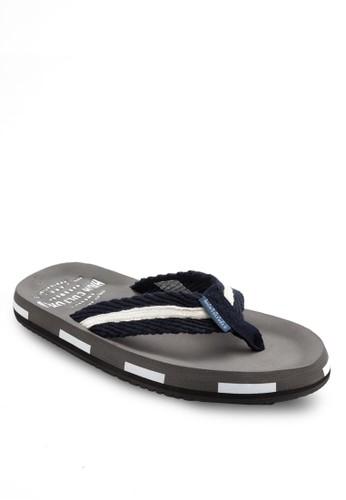 雙色休閒拖鞋, esprit hong kong鞋, 鞋