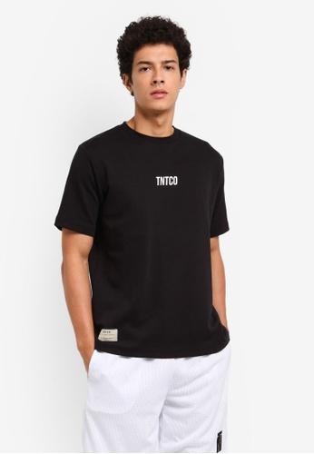 TNTCO black Oriental Dragon Tee 52FC6AABC8F637GS_1