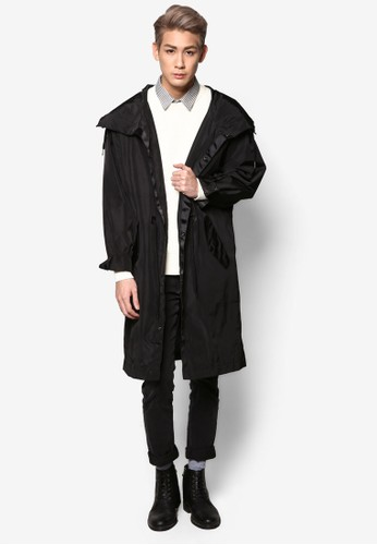 長版連帽尼龍外套, 服飾, 休閒外套及esprit 童裝風衣